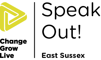 Speak Out East Sussex logo in colour