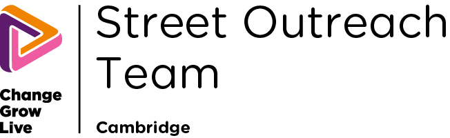 Street Outreach Cambridge white logo