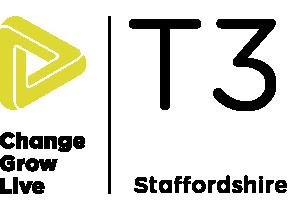 T3 Staffordshire logo