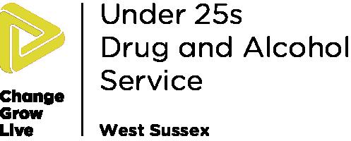 Under 25s Drug and Alcohol West Sussex logo