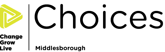 Choices Middlesborough logo in colour