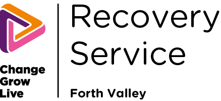 Recovery Service Forth Valley logo in colour
