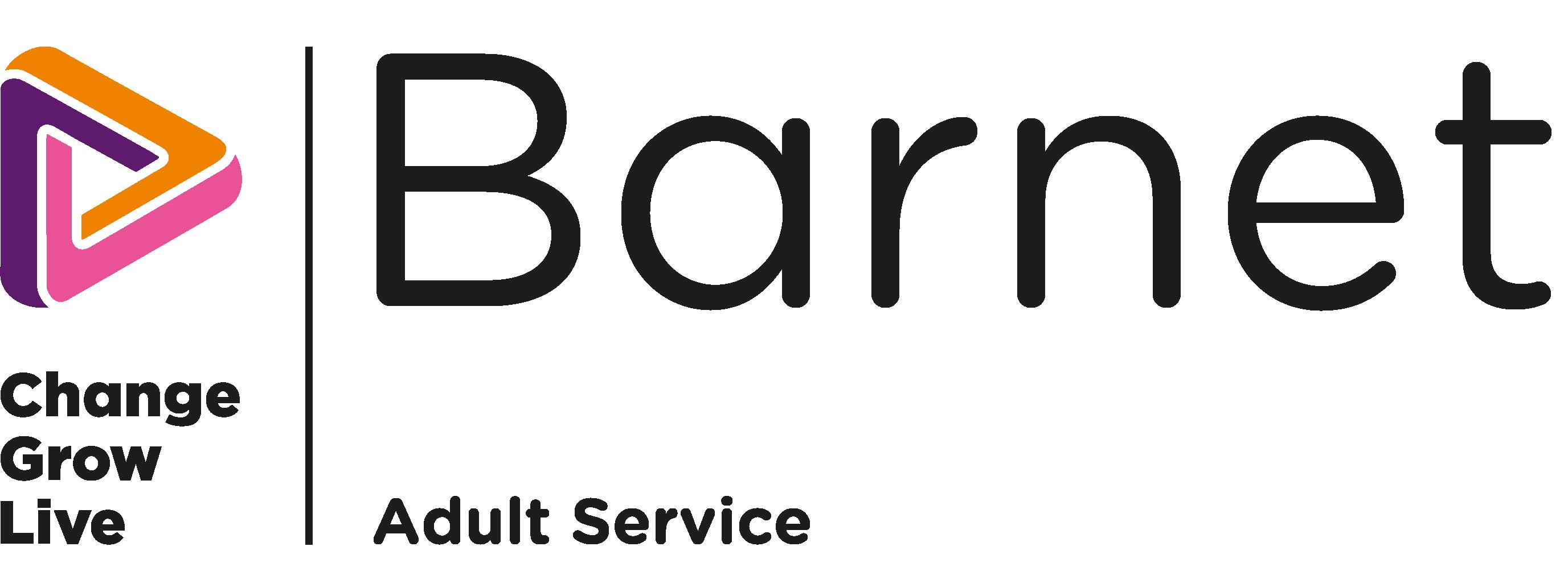 The Barnet logo in colour