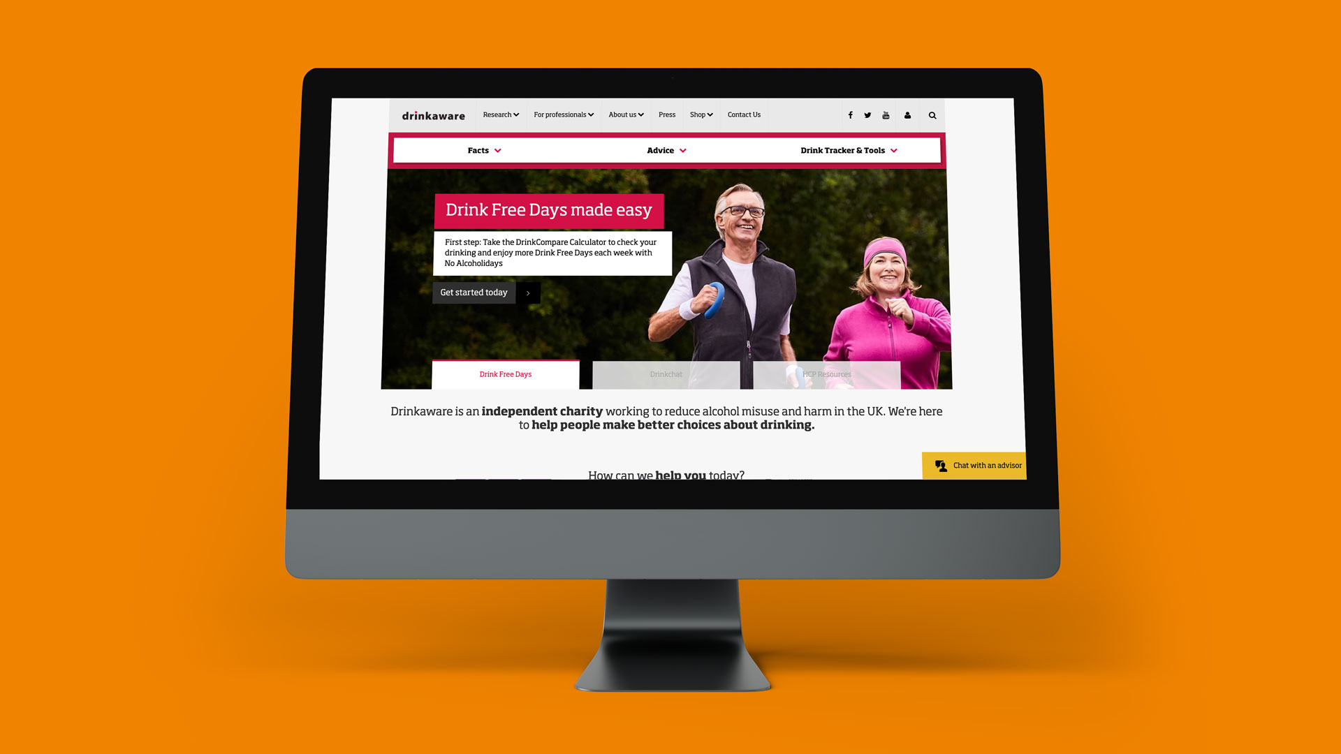 Drinkaware website