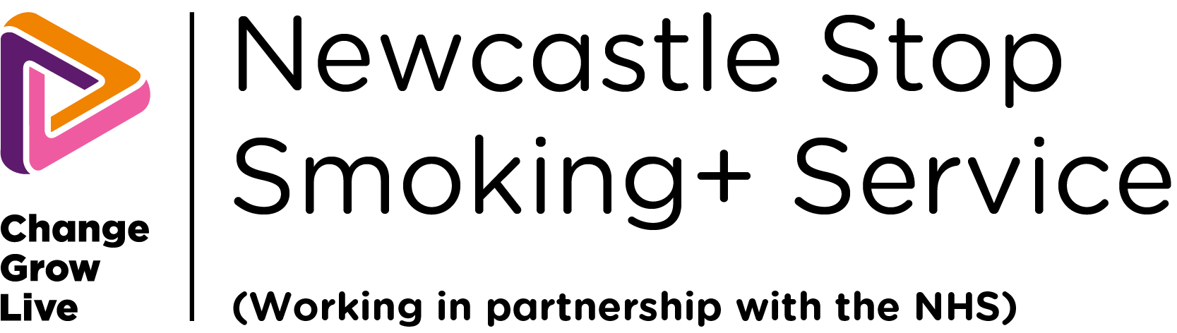 Newcastle stop smoking logo in colour