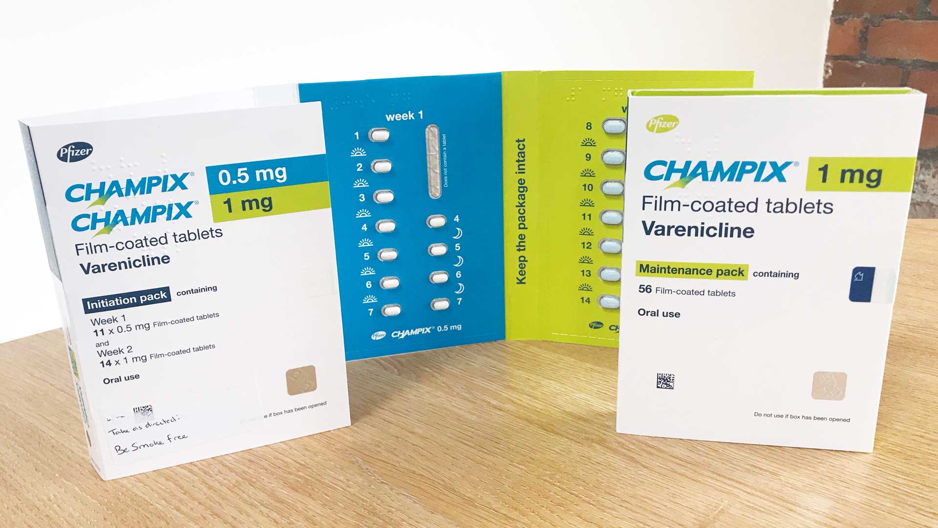 Photo of champix tablets