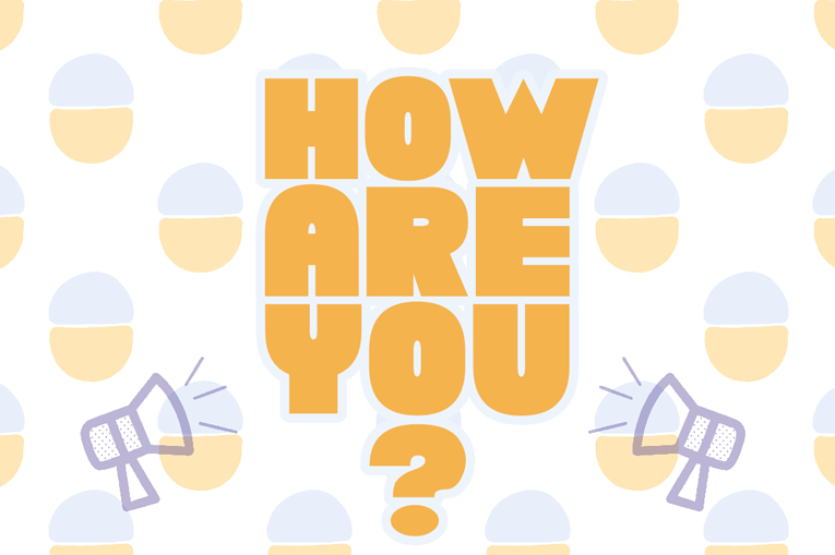 The how are you logo