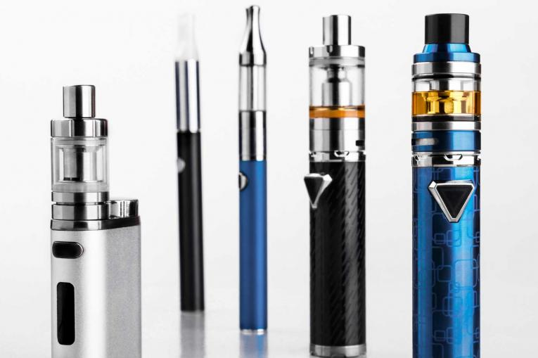 Photo of a set of e-cigarettes