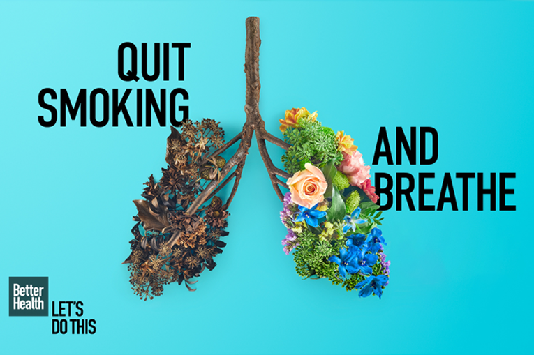 An NHS stop smoking image